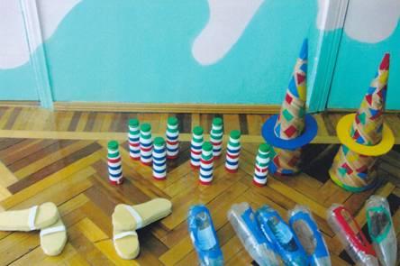 Нетрадиционное физкультурное оборудование для детского сада своими руками