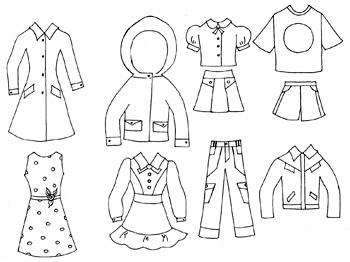 Конспект занятия на тему одежда в старшей группе