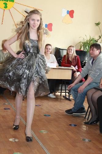 Какое платье можно сделать из фольги для конкурса мисс зима.