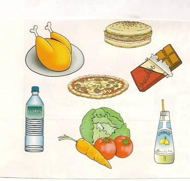 для детей картинки еда