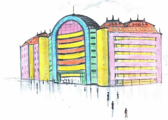 Рисунки на тему школа будущего