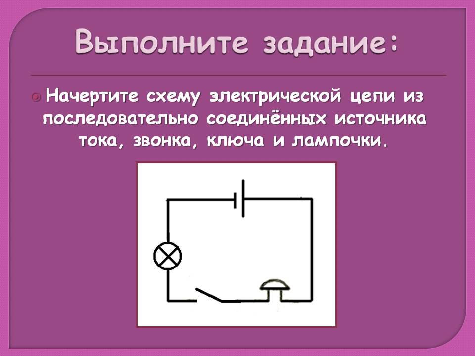 "Урок физики по теме """