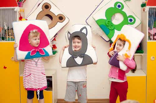 Театры в детском саду своими руками фото