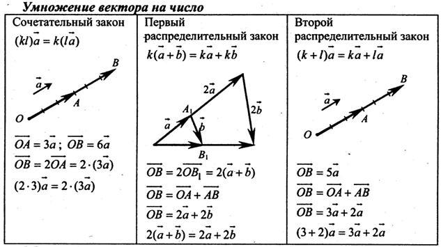 Вектор умножение вектора на число решение задач задачи по информатике решение в паскале