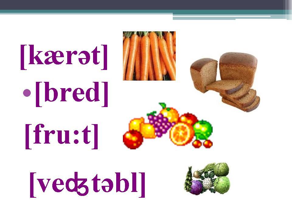 Презентацию По Английскому Языку На Тему Food