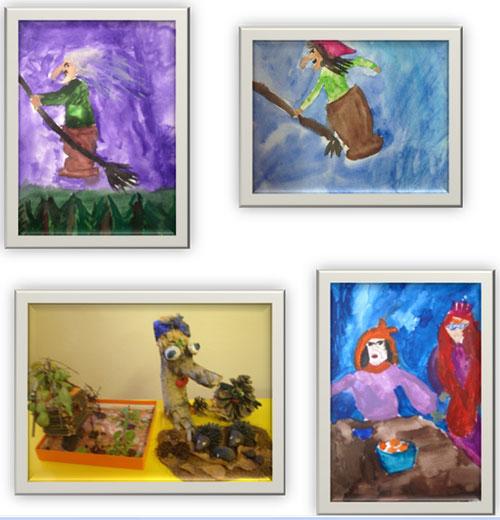 мусоргский картинки с выставки баба яга картинки