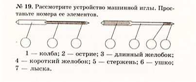 Тема урока машинные швы 6 й класс