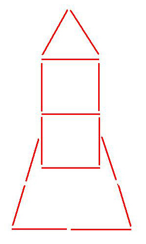 Давай построим ракету из