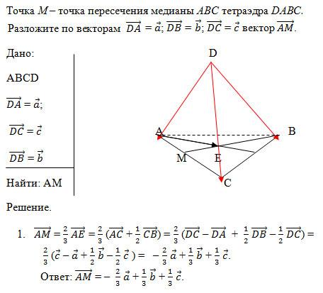 Решение задач стереометрии с помощью векторов решение задач в математике реферат