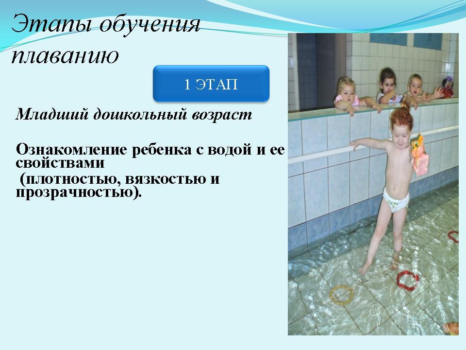 Реферат на тему обучение плаванию детей дошкольного возраста 3057