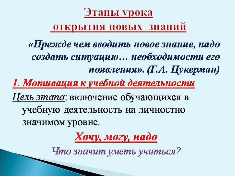 анализ урока русского языка в начальной школе по фгос образец - фото 7