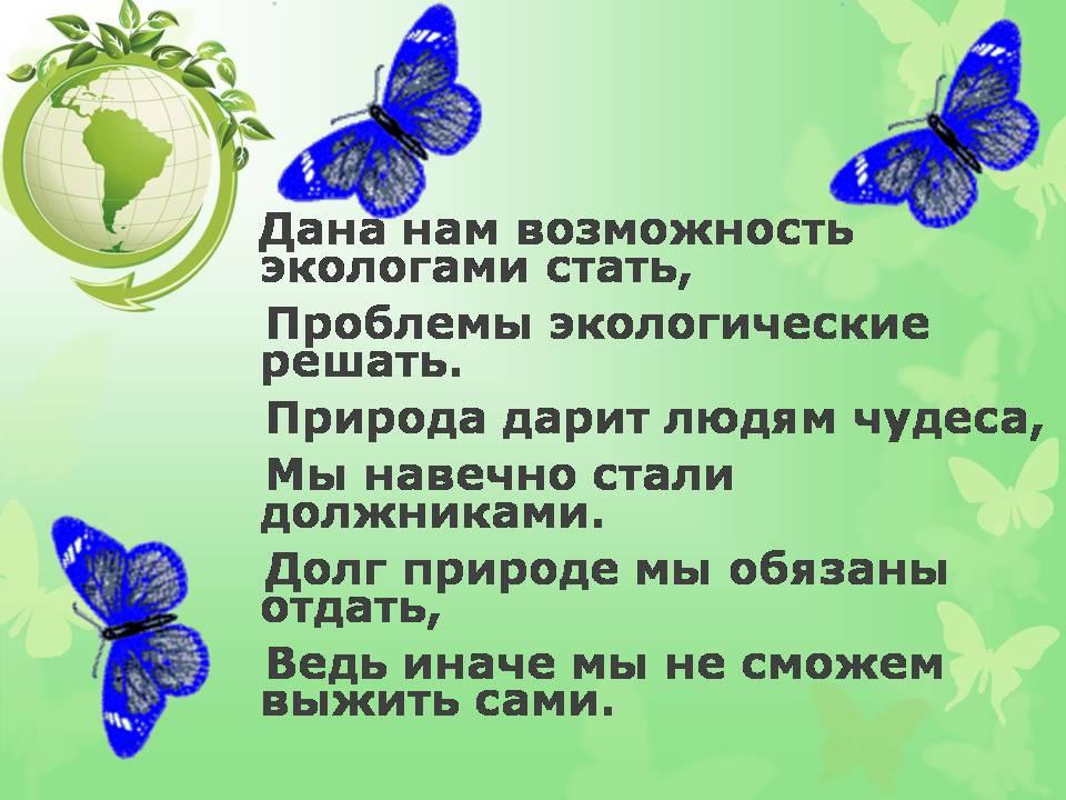 Доклад мир глазами эколога 898