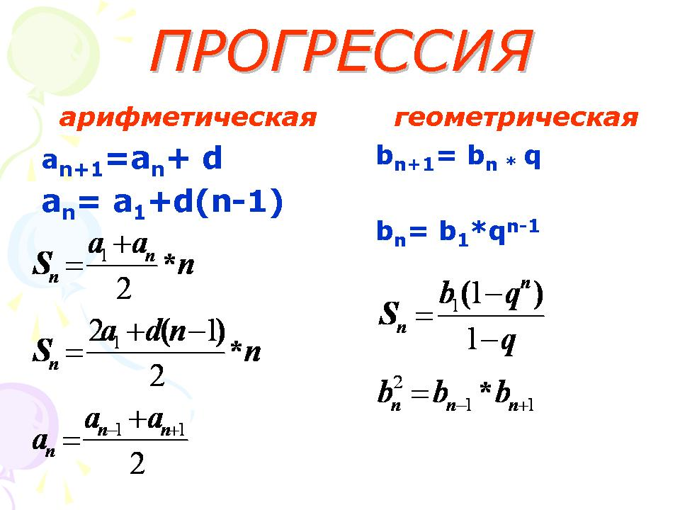 Решение задач на арифметические и геометрические прогрессии решение задачи по математике 1 класс гармония