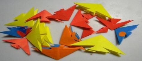 Кубик бумага оригами видео